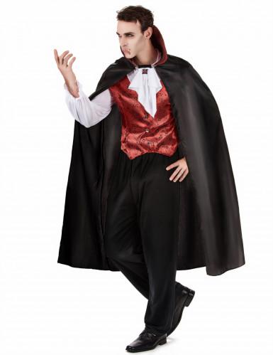Halloween vampierenkostuum met cape voor mannen-1