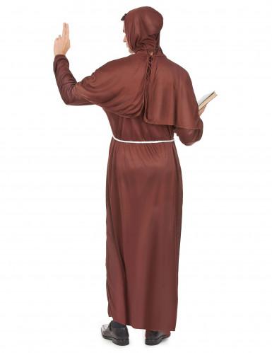 Bruin monniken kostuum voor mannen-2