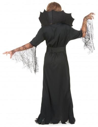 Halloween heksen en spinnen kostuum voor meisjes-2
