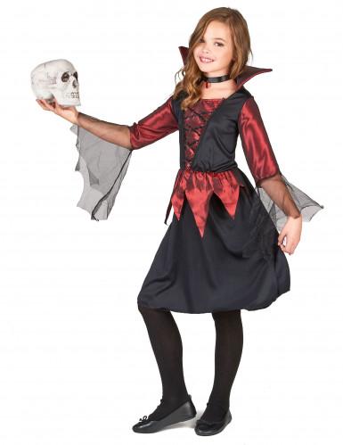 Halloweenvampierenkostuum voor meisjes-1