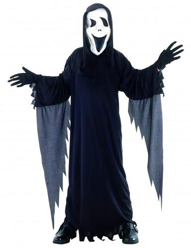 Spook moordenaar kostuum voor kinderen