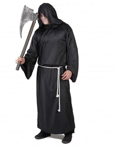Luguber Magere Hein kostuum voor mannen-1