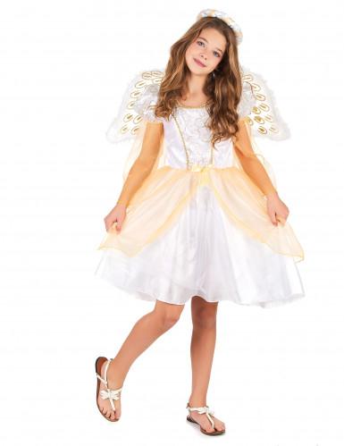 Engel kostuum met vleugels voor meisjes