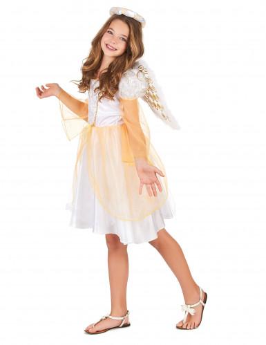 Engel kostuum met vleugels voor meisjes-1