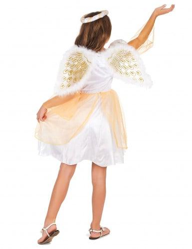 Engel kostuum met vleugels voor meisjes-2