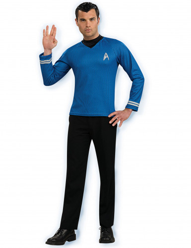 Blauw Star Trek™ shirt voor mannen