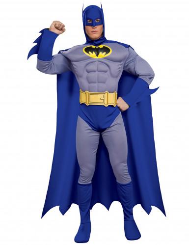 Blauwe klassieke Batman™ outfit voor mannen
