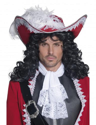 Rode piratenhoed voor volwassenen