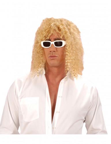 Blonde zangerpruik voor volwassenen