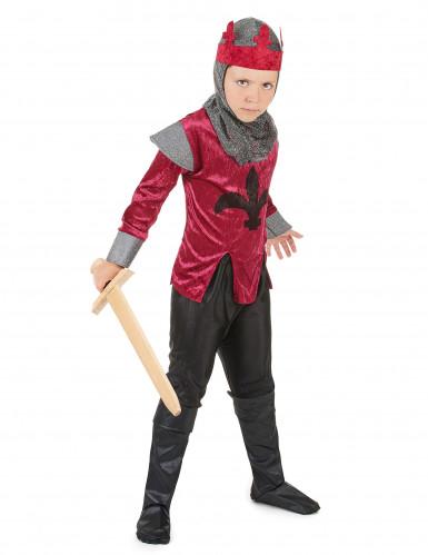 Middeleeuwse ridderoutfit voor jongens