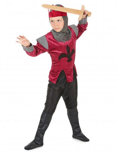 Middeleeuwse ridderoutfit voor jongens-1