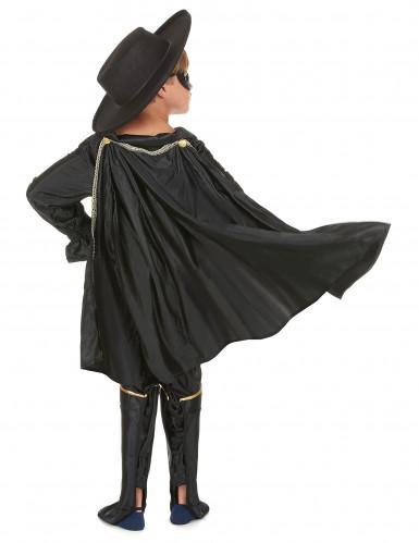 Zwarte musketier kostuum voor jongens-2