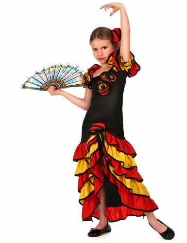 Spaanse danseres outfit voor meisjes