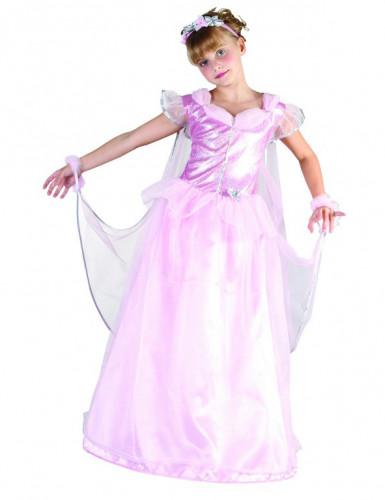 Roze prinseskostuum voor meisjes
