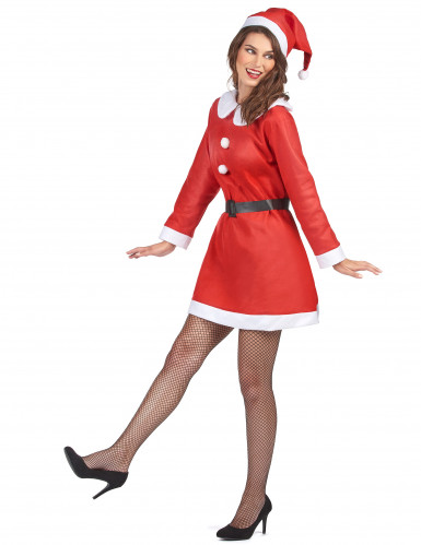 Kerstvrouwkostuum voor vrouwen-1