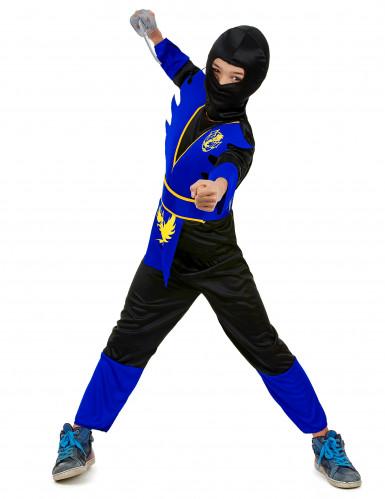 Blauw adelaar ninjapak voor jongens-1