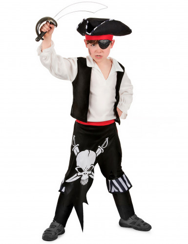 Woeste piraten outfit voor jongens