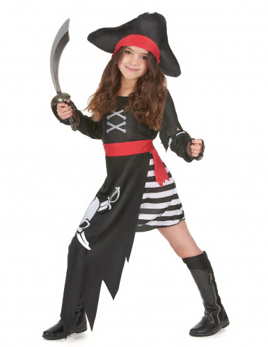 Strijdlustige piraat outfit voor meisjes-1