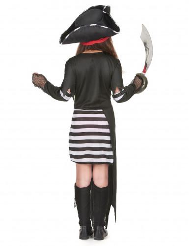 Strijdlustige piraat outfit voor meisjes-2