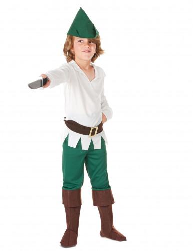 Woudjongen kostuum voor kinderen