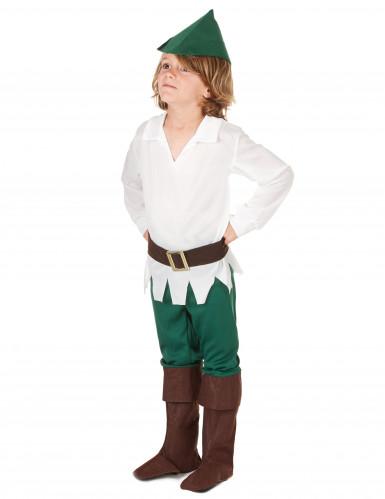 Woudjongen kostuum voor kinderen-1
