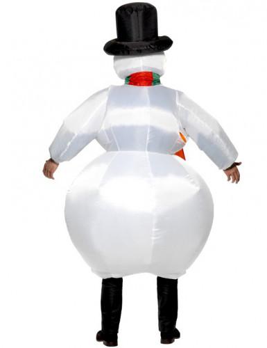 Opblaasbaar Sneeuwpop voor volwassenen-1