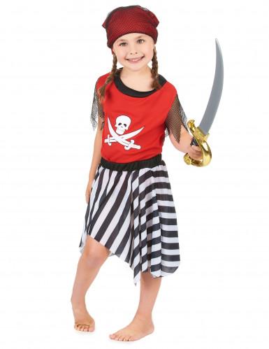 Doodskop en botten piraat kostuum voor meisjes