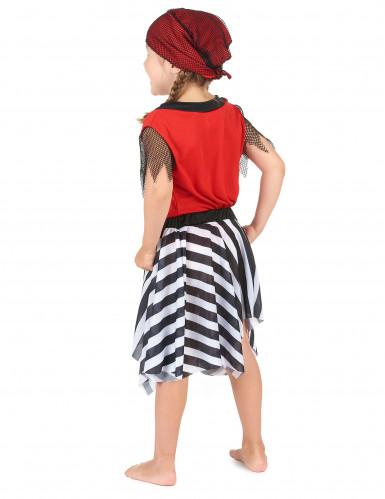 Doodskop en botten piraat kostuum voor meisjes-2