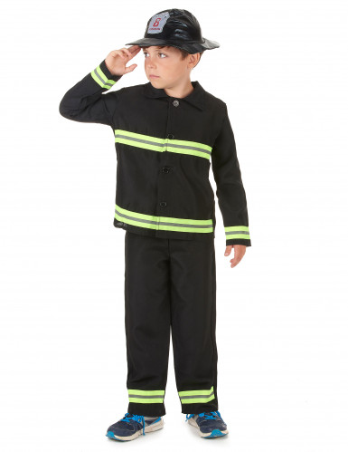 Brandweerman outfit voor jongens-1