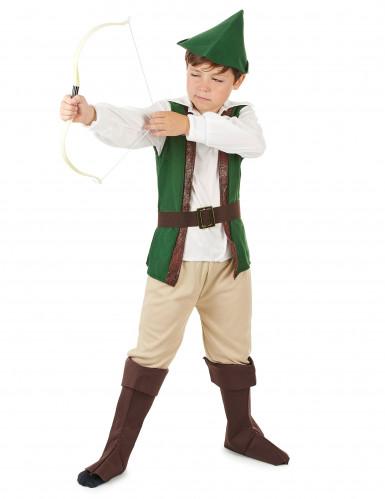 Woudman kostuum voor jongens-1