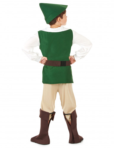 Woudman kostuum voor jongens-2