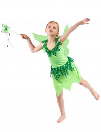 Groen feeën kostuum voor meisjes