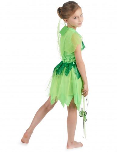 Groen feeën kostuum voor meisjes-2