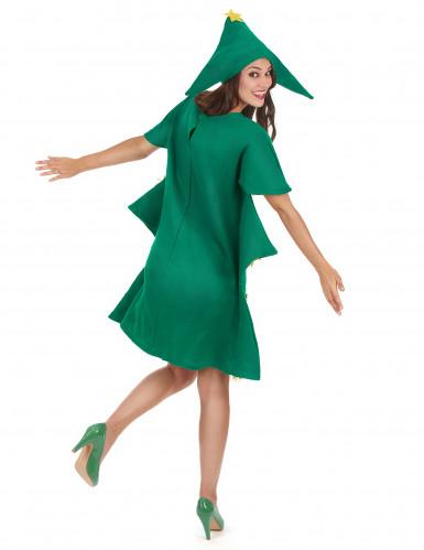 Groen kerstboomkostuum voor vrouwen-2