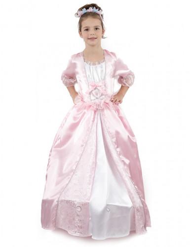 Roze prinseskostuum voor meiden