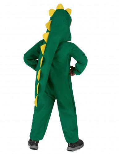 Gele en groene dinosaurus outfit voor kinderen-2