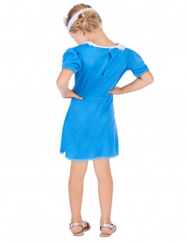 Blauw verpleegster kostuum voor meisjes-2