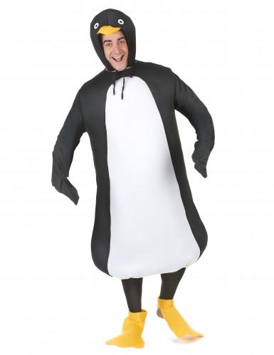 Grappig pinguïnkostuum voor volwassenen