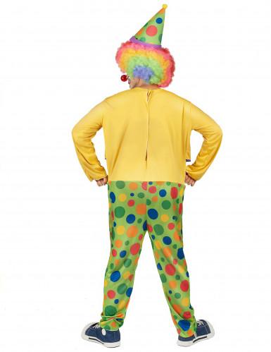 Grappige clown kostuum voor mannen-1