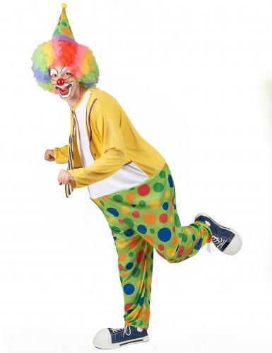Grappige clown kostuum voor mannen-2