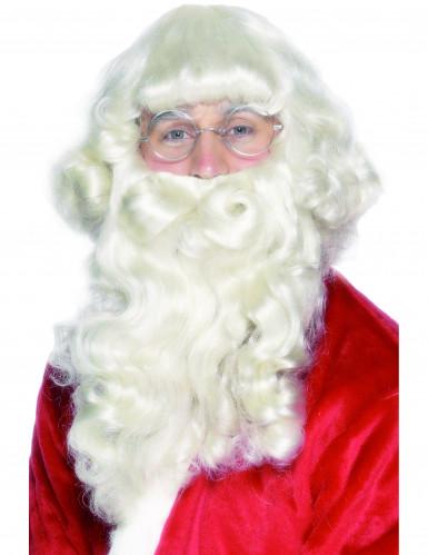 Luxueuze kerstmanbaard voor volwassenen