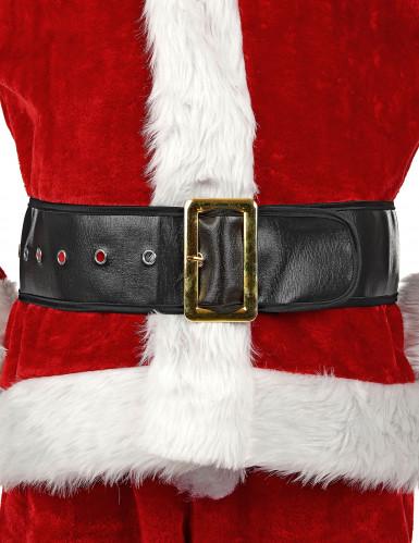 Zwarte kerstmanriem voor volwassenen-3