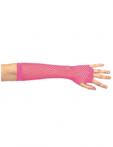 Roze nethandschoenen voor vrouwen