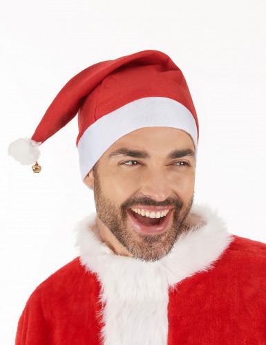 Kerstmuts met belletje voor volwassenen-1