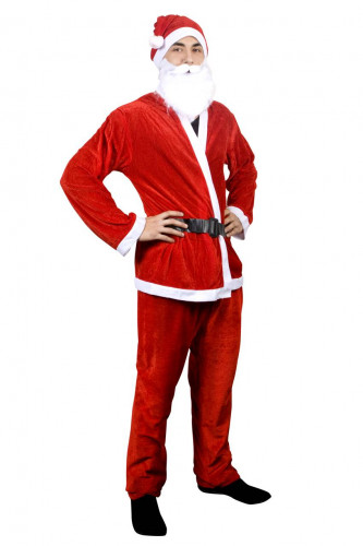 Santa kerstmanpak voor heren