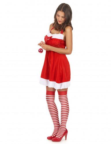 Sexy kerstvrouw jurk voor vrouwen-1