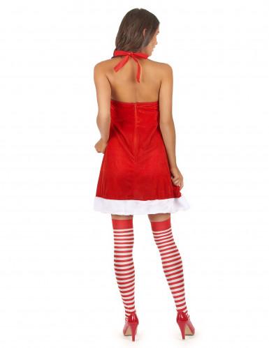 Sexy kerstvrouw jurk voor vrouwen-2