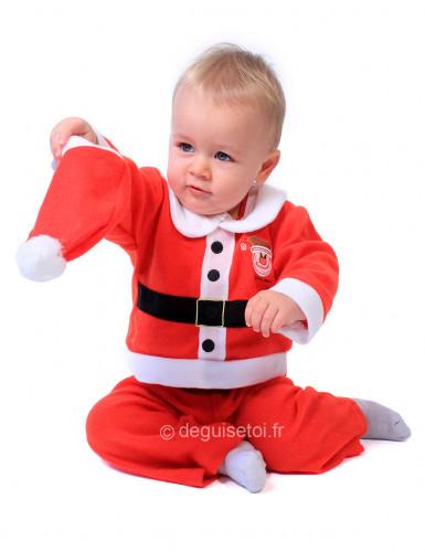 Kerstmankostuum voor baby's