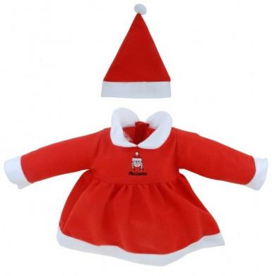 Kerstvrouwkostuum voor baby's-1