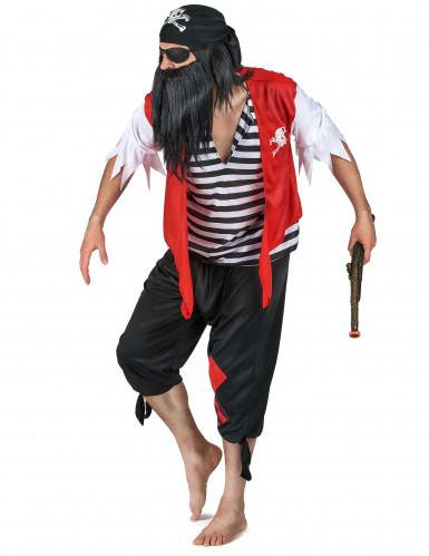 Piraten koppelkostuum voor volwassenen-1